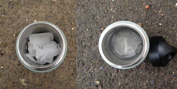 Ice, Ice Baby...before & after 24 hours