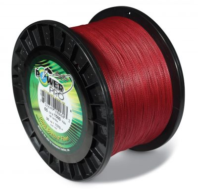 red fishing line