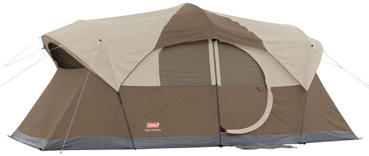 Coleman Weather master 10-person screened tent
