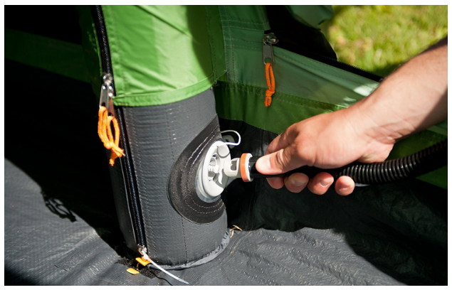 Inflatable tents definitely have their place in c&ing. So how can you decide which is best for you? & Best 6 Man Tents Reviewed u0026 Compared in 2018 | GearWeAre.com