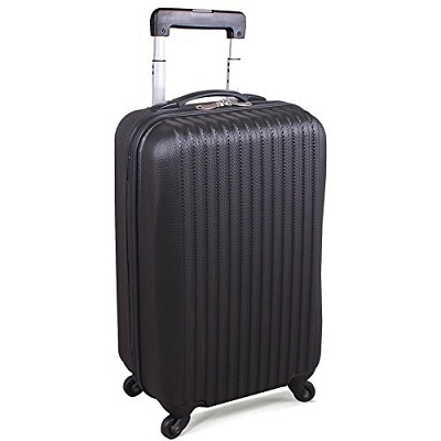 Utopia 20-Inch ABS Lightweight Carry-On Spinner Luggage
