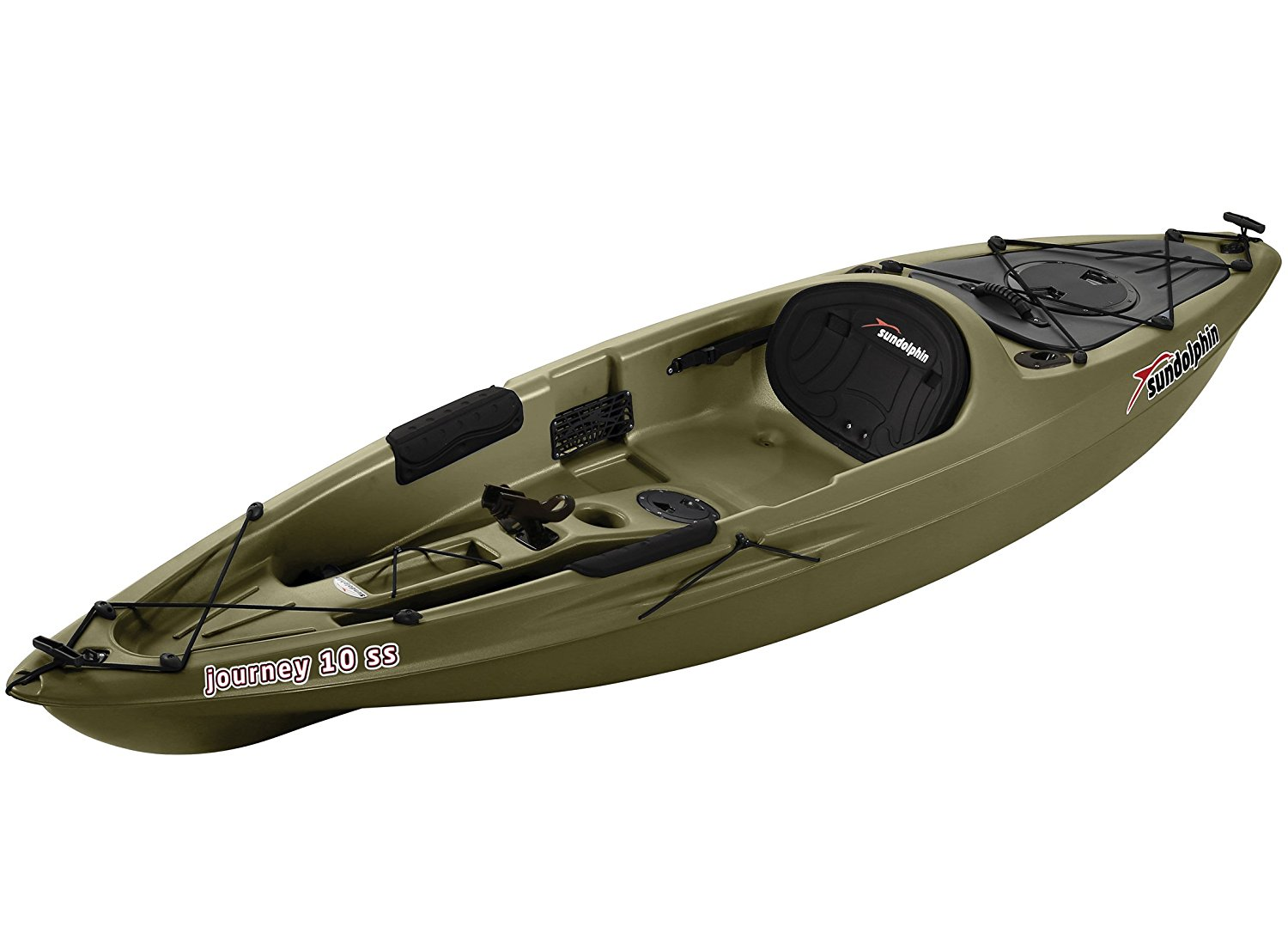 the sun dolphin journey 12 foot sit on top fishing kayak