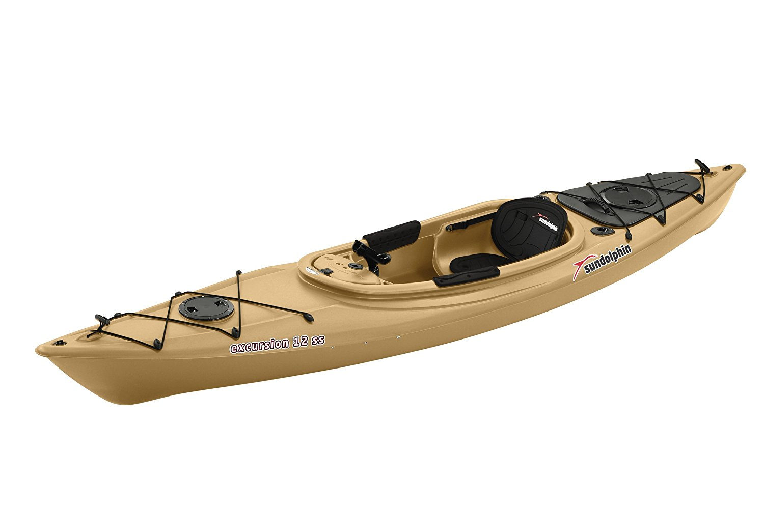sun dolphin excursion 12 foot sit in fishing kayak review