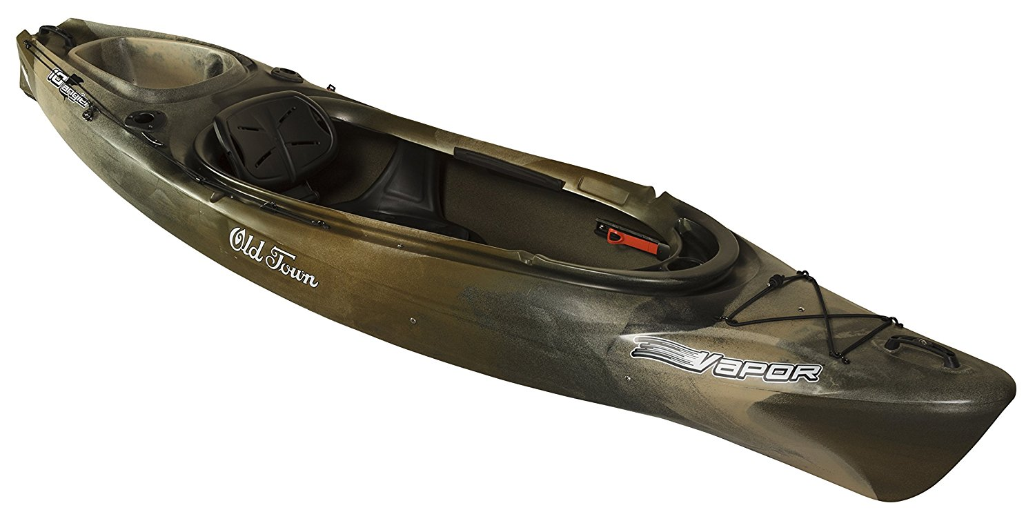 Old town vapor 12 angler review 2017 for Most stable fishing kayak