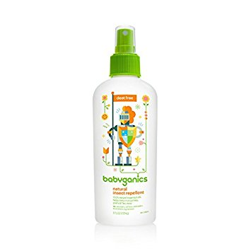 Babyganics DEET-Free Natural Insect Repellent