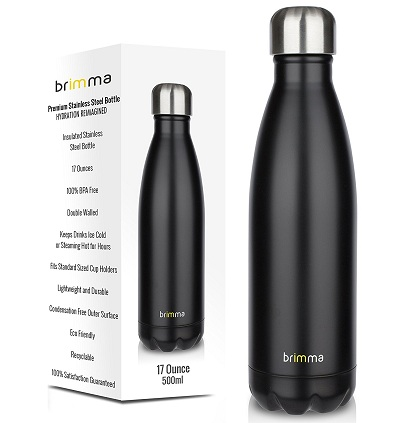 Brimma vacuum insulated water mug