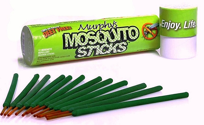Murphy's Natural Incense Mosquito Repellent Sticks