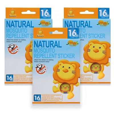 Simba Natural Mosquito Repellent Stickers