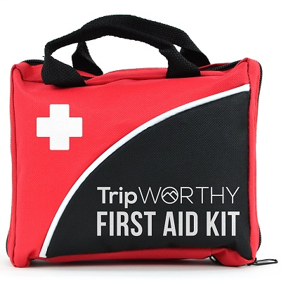 Tripworthy Compact First Aid Kit for Medical Emergency