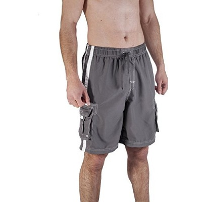 AKULA MEN'S SHORTS SWIM TRUNKS