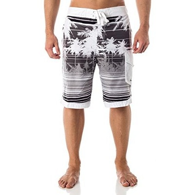 ALKI'I MEN'S HYBRID BOARD SHORTS