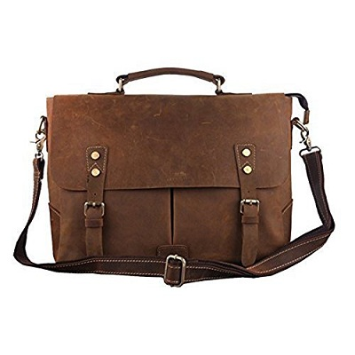 Berchirly Vintage Military Canvas Messenger Bag