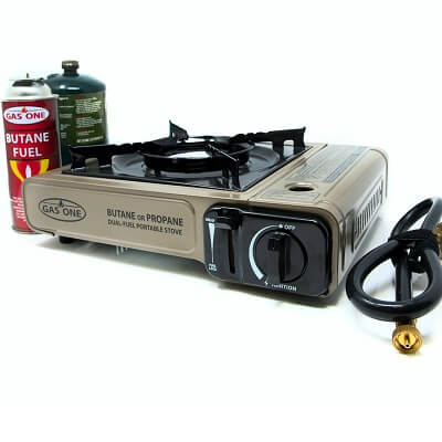 GAS ONE GS-3400P Dual Fuel Camping Stove