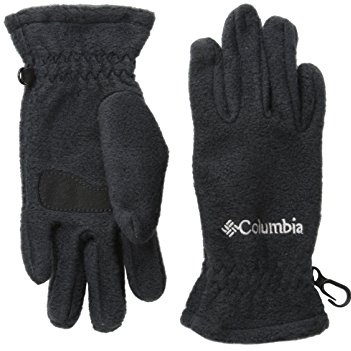 Small Black Size Columbia Kids Youth Whirli Bird Mitten Performance Gloves
