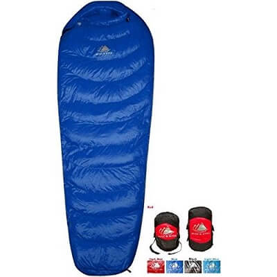 hyke and byke 0 degree snowmass sleeping bag review
