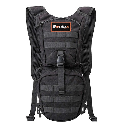 BONLEX Hydration Pack Tactical Water Hiking Backpack