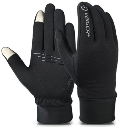Vbiger Winter Running Touchscreen Gloves