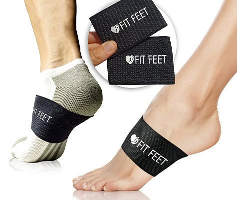 2 Pain Relief Orthotic Compression Braces