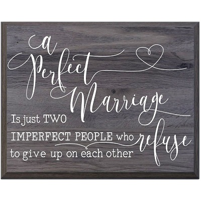 Marriage Family Wall Plaque