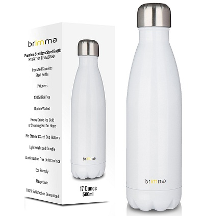 Brimma Vacuum Insulated Water Bottle