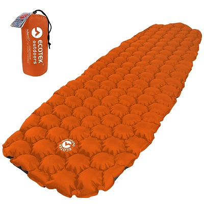 EcoTech Inflatable Sleeping Pad Best Gifts for Outdoor Lovers