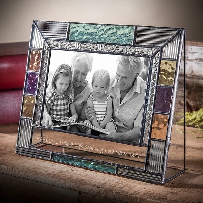 Devlin Personalized Picture Frame