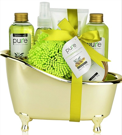 Pure Deluxe Spa Gift Basket