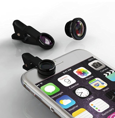 GoGo Robots Lens Kit for iPhone, Android, & All Smartphones