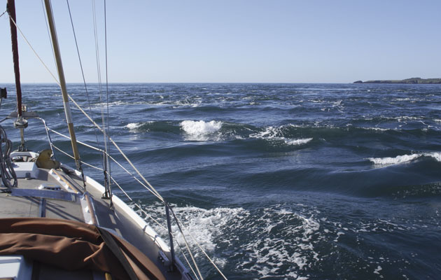 sailing and wind speed