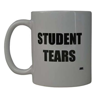 Rogue River Funny Coffee Mug Best Teacher Student Tears Novelty Cup