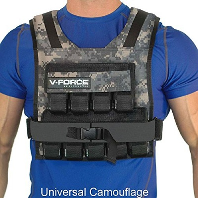 45 Lb. V-Force Weight Vest