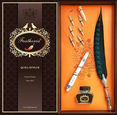 Featheria Fine Point Stylus & Quill Pen