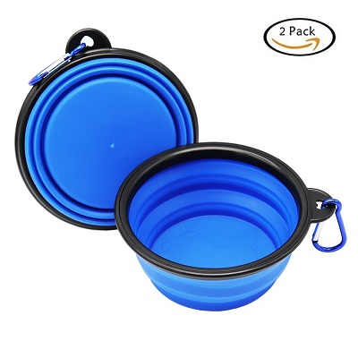 Large Size Collapsible Dog Bowl