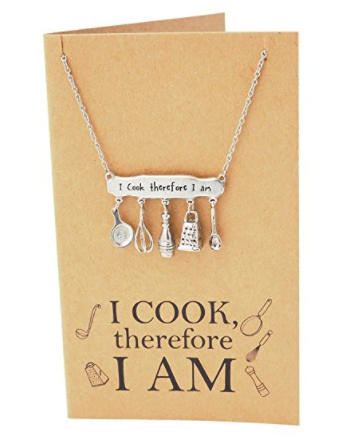 Quan Jewelry Cooking Charm Baking Necklace