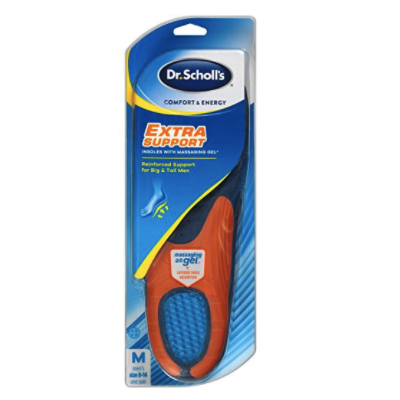 Dr. Scholl's Massaging Gel Extra Support Insoles