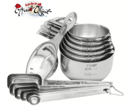 SUPREME MEASURING CUPS and SPOONS