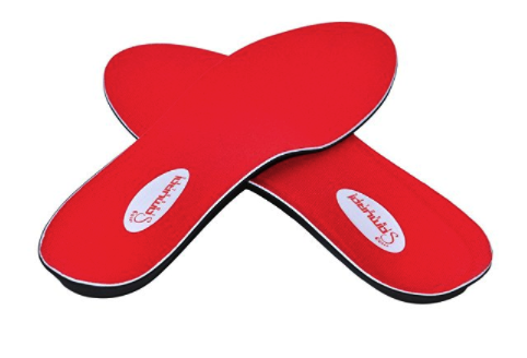 Instant-Relief Orthotics for Flat Feet by Samurai Insoles