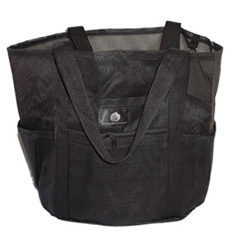 Saltwater Canvas Family Mesh Whale Bag