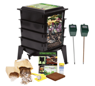 Worm Factory 3-Tray Worm Composter