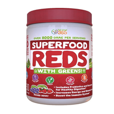 Feel Great 365's Superfood Vital Reds With Greens