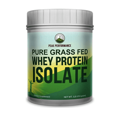 Peak Performance's Pure Grass Fed Whey Protein