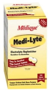 Medique's Medi-Lyte Electrolyte Replacement Tablets