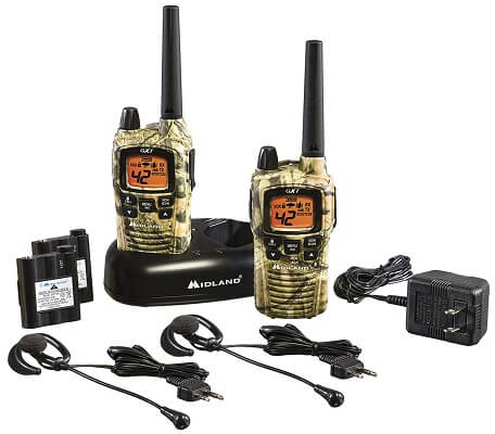 Midland GXT1050VP4 50 Channel GMRS Two-Way Radio