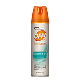Off! Family Care Smooth & Dry, 2.5-Ounce Cans