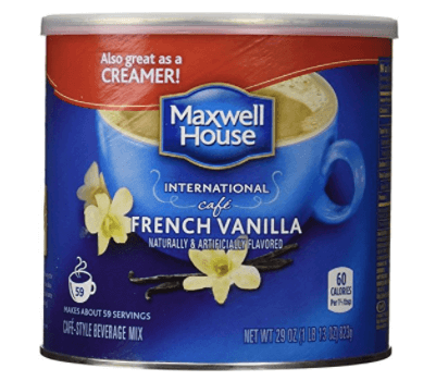 Maxwell House International Coffee French Vanilla Cafe