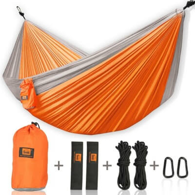 LAZY MONK DOUBLE CAMPING HAMMOCK