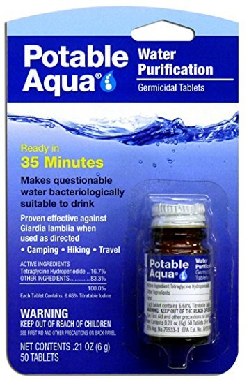 Water Purification (50 Tablets)
