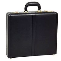 MCKLEIN LEATHER ATTACHE CASE