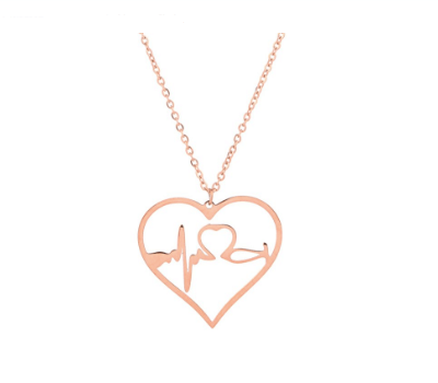 Stainless Steel Stethoscope Necklace