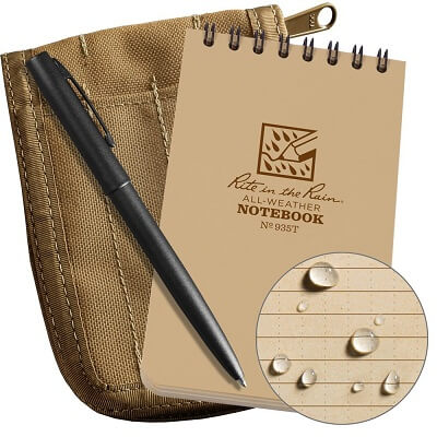 Rite in the Rain All-Weather Top Spiral Notebook Kit